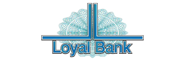 Loyal Bank logo (in St. Vincent and the Grenadines)