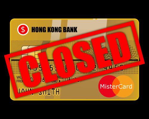 AsiaBC: Reopening of closed Hong Kong bank account